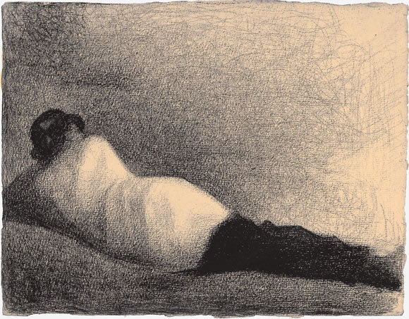 julienfoulatier:  Illustration by Georges Seurat.