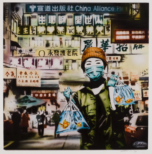 eddiecolla:  GFL 2 - 18x18 inch Giclee print Limited edition of 50 signed and numbered printed on 300 lb italian made cold press watercolor paper Released Today @ fiftyseven-thirtythree.com