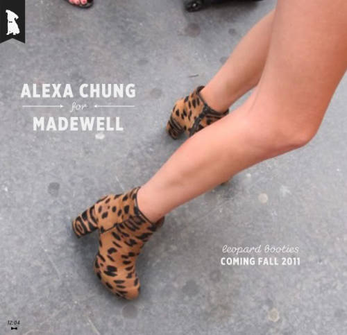 Really digging the new Alexa Chung collection for MadeWell. Especially the BinMan Coat and the Desert Sessions dress.  thankyoubrooklyn:  yes please