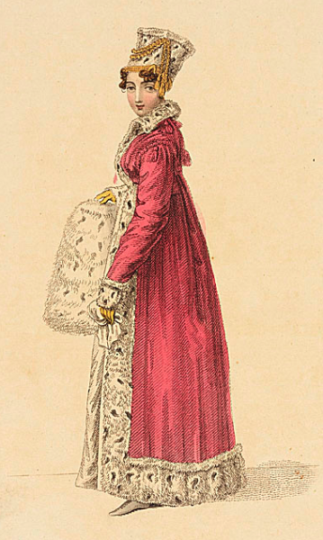 Carriage costume, January 1817