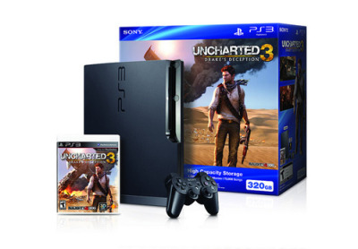 videogamenostalgia:  Uncharted 3 To Get its Own PS3 Bundle PlayStation has announced an Uncharted 3: Drake's Deception bundle to go with the upcoming launch of the game. Oh, excitement! The bundle will include Uncharted 3: Drake's Deception (duh), a 320GB PS3 system, and a one month subscription to PlayStation Plus. Uncharted 3 will be coming at you November 1 on the PS3 (November 2 in Europe and Japan, November 3 in Australia). (via: metronic-gamers)  GODDAMMIT SONY WHY MUST YOU MOCK ME AND MY LACK OF MONEY!!!!!!!