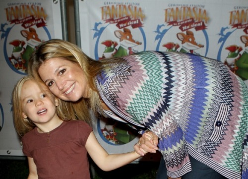 Princess Máxima and Princess Ariane,September 21,2011.