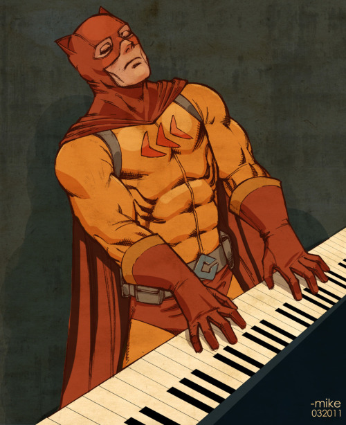 lulubonanza:  Keyboard Catman Drawn By *theothermike