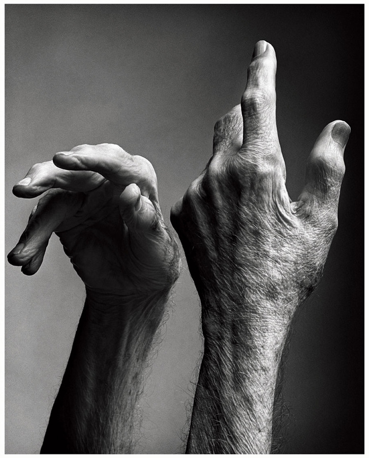 -outlying-:  Mark Seliger, Portrait of Merce Cunningham, 2009