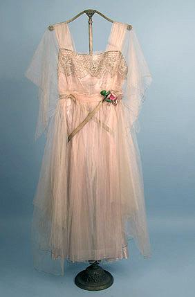 Party dress, ca 1916