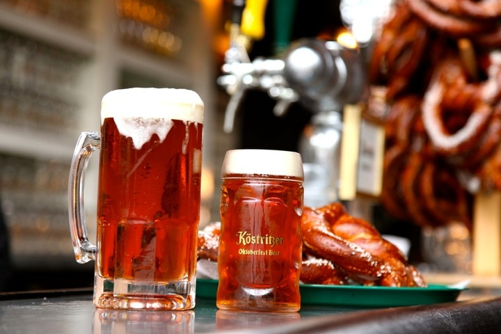 Prost! We're celebrating Oktoberfest in the Biergarten! Join us!