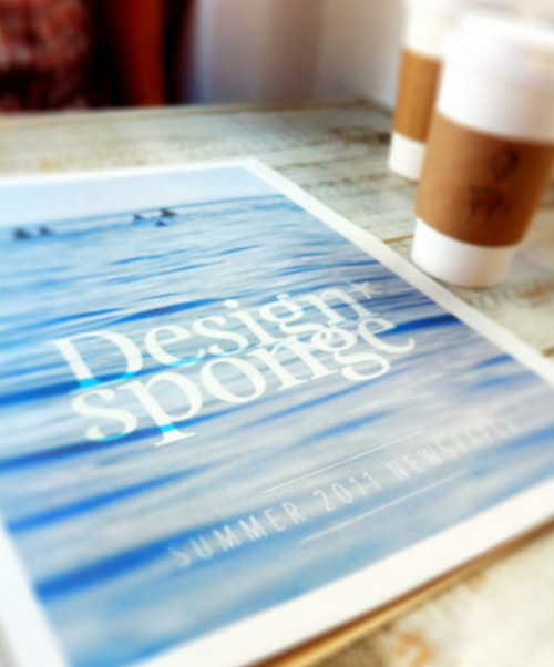 EXTRA EXTRA: THE DESIGN*SPONGE NEWSPAPER IS OUT!