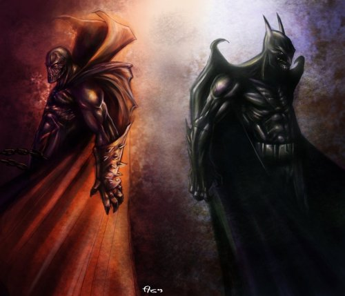 herochan:  The Dark Warriors - by Allen Totingski (Via: xombiedirge)
