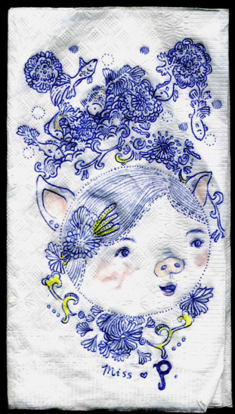 (via Sketches: Napkin Doodles « Sketches & Jottings)