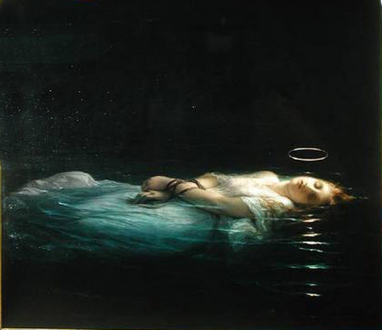 arthistory-blog:  The Young Martyr (1855) by Paul Delaroche