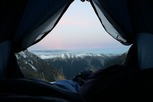 viewfromthetent:  View from our Tent by Micah Sullivan on Flickr.