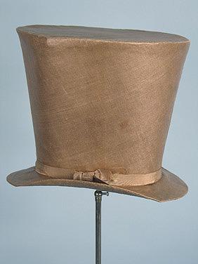 Men's hat, 1840's