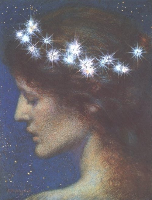 arthistory-blog:  Night by Edward Robert Hughes (1851-1914)  nan119: Sweet dreams to all.