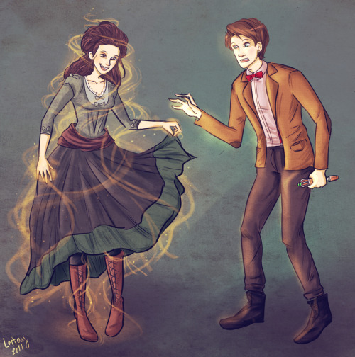 tardisoftumblr:  The Doctor's Wife by ~lortay