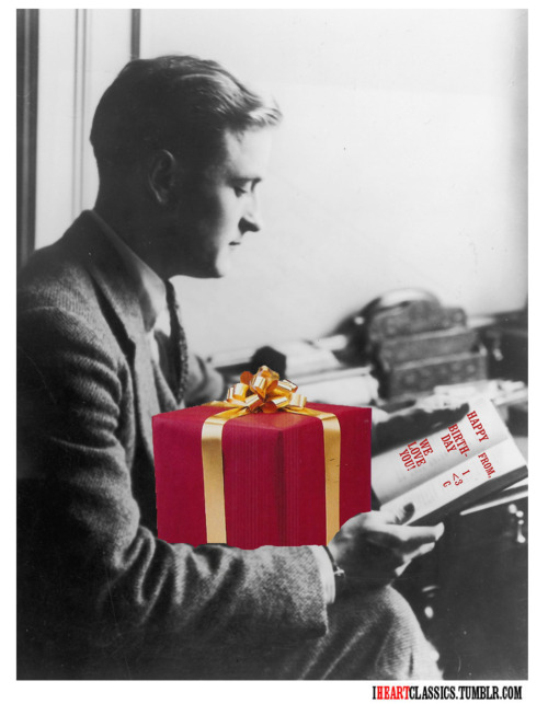 Happy birthday, F. Scott Fitzgerald!