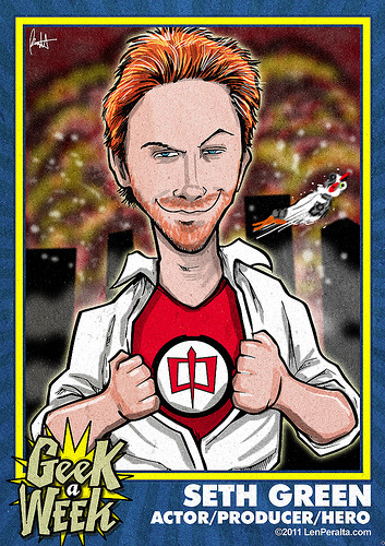 Geek A Week Season 2: Seth Green (by jawboneradio) Support The Geek A Week Kickstarter!  Unlock geeks, rewards, art and podcasts!