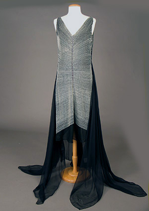 Evening dress, ca 1929