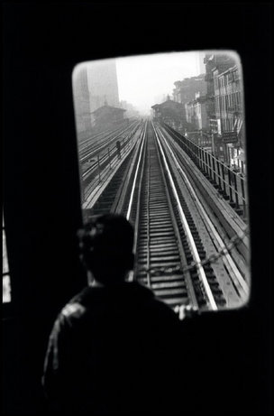 Third Avenue El, NYC, 1947 Elliott Erwitt