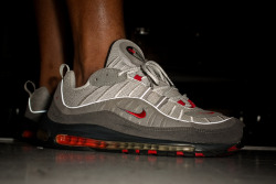 "Air Max 98 ""Neutral Grey/Varsity Red"" on Flickr.'98 love…"
