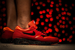 "Nike Air Max 1 ""Sunset"" Custom by Daaznfella on Flickr.Bokeh"