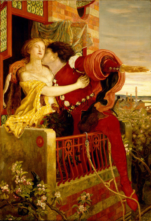 Romeo and Juliet (1870), Ford Madox Brown.