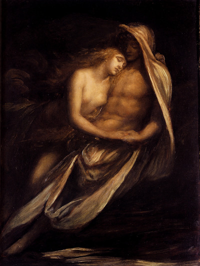 deadpaint:  George Frederick Watts, Paulo and Francesco