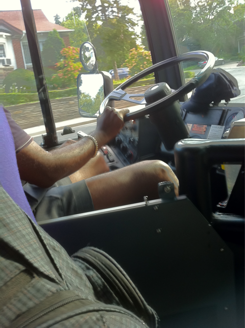 marh:  Short-shorts-wearing TTC driver on the 124 today. I enjoyed it.