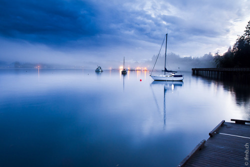 wuat:  blue sooke harbour by MB*photo on Flickr.
