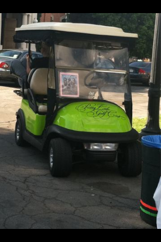 Pretty Little Liars Golf Cart. I thought it was pink? Must be more than one.