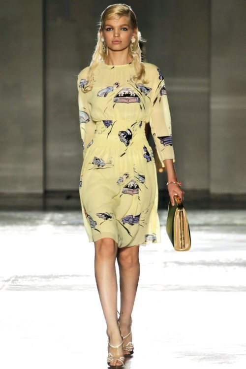 Prada, Spring 2012 Ready-to-Wear Daphne Groeneveld Prada Spring 2012 | Milan Fashion Week