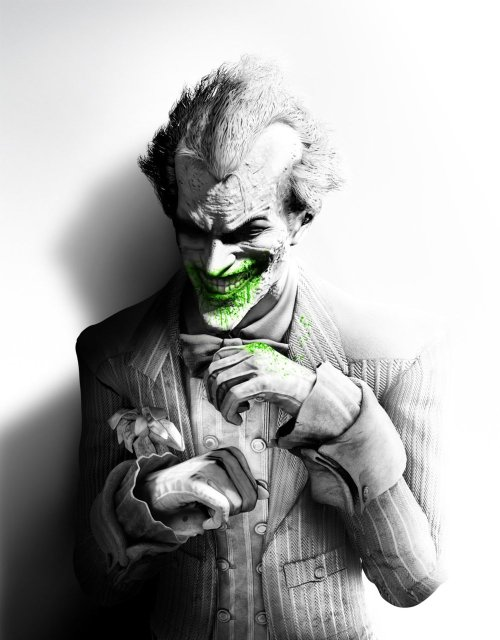 svalts:  THIS… Watch Batman: Arkham City's 'Joker' trailer  (Via: gamefreaksnz) No words.