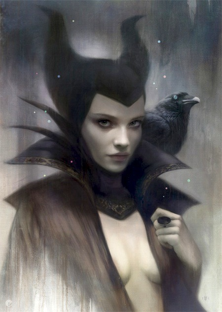 *o* marysoul:  MALEFICENT by tom bagshaw