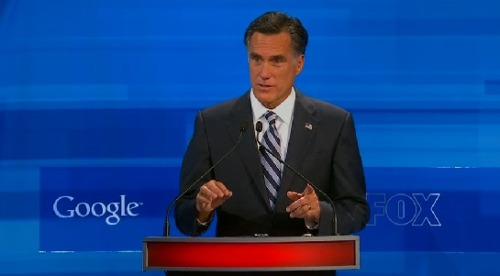 "Megyn Kelly: ""Hey, Mitt, everyone else on the stage calls Obama a Socialist. Why didn't you? Huh?! HUH?!?!"""