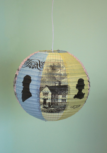 quiethouses:  Estate of Mind Lantern Shade $14.99 via ModCloth