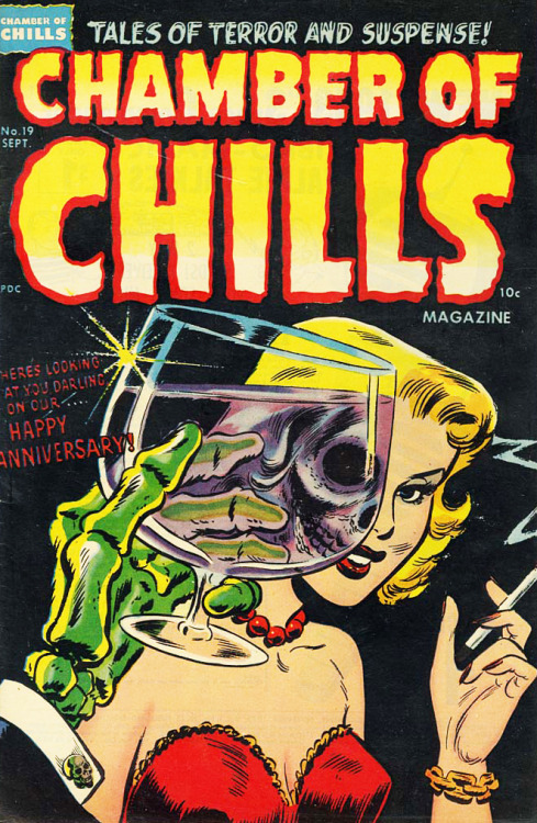 vintagegal:  Chamber of Chills issue 19, September 1953