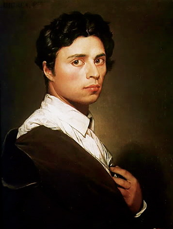 langoaurelian:  Jean-Auguste-Dominique Ingres, Self Portrait