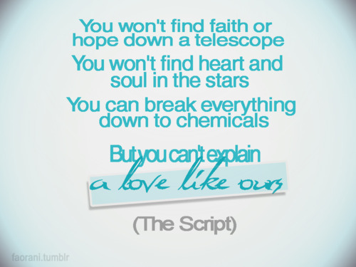 I love The Script!