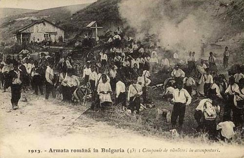 fyeaheasterneurope:  Romanian army in Bulgaria during the Second Balkan War, 1913. haha. we should have just stayed there and annexed that shit.