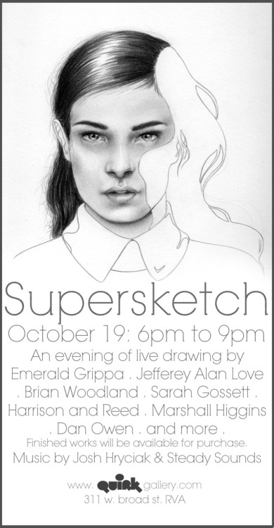 emeraldgrippa:   Hope to see you there  Tomorrow at Quirk Gallery