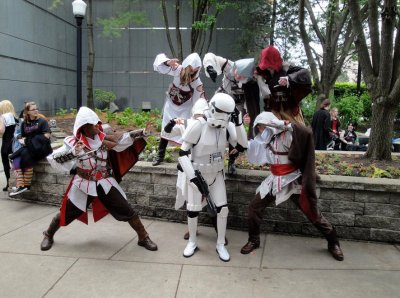 fuckyeahcreedcosplay:  Assassins have no love for Stormtroopers.