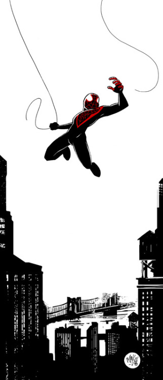 awyeahcomics:  Ultimate Spider-Man by Mike Maihack