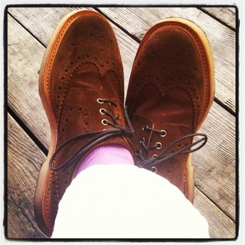 Fall suede. Mark McNairy x Très Bien Shop (Taken with instagram)