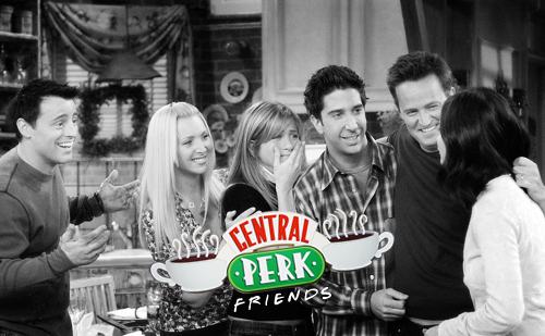 WE HAVE A NEW LAYOUT OVER AT CENTRAL PERK! Make sure to check it out, and stay tuned for the upcoming Friends marathon! Also, if you haven't registered yet, do it now, so you don't miss all the fun! :3