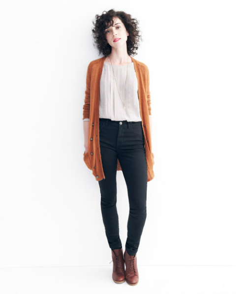 pleasetoenjoy:  fuckyeahstvincent:  My Madewell: Musical Muse