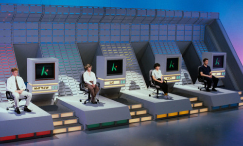 patampopcorn:  Contestants on The Krypton Factor (series 1977-95).  I think every UK school had a teacher who went on this show and failed miserably and went on to take it out on the kids for the rest of their career.