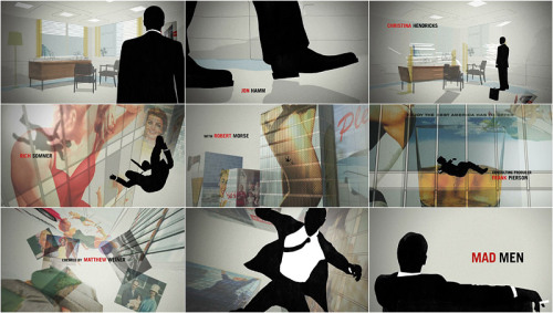 Excellent article on the opening titles of Mad Men. Click the pic. Cant recommend the 'Art of the Title' website more.