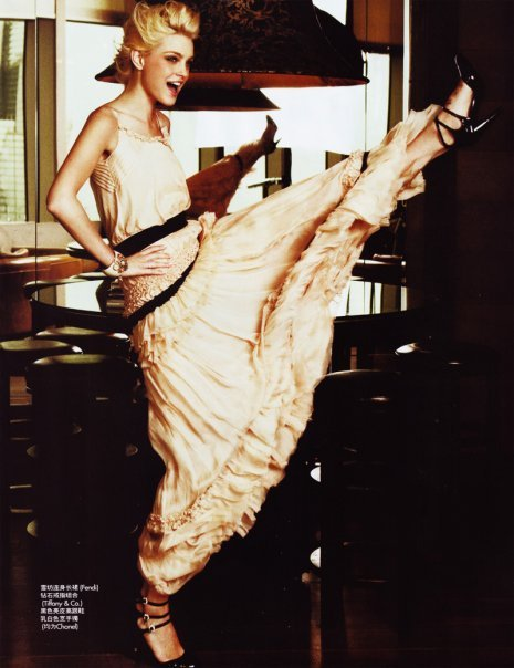 fuckyeahvintagediary:  Jessica Stam for Elle China Feb 2010