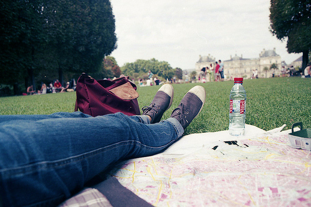 Relax.. you're in paris shot with pentax mx | fuji superia 200