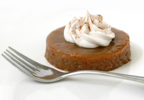 "granolawarrior:  Persimmon Pudding with Whipped Coconut Cream From Kim Garr of C'est La V Bakeshop, via Made Just RightPudding:2 cups persimmon pulp (use the soft Hachiya variety)1 1/2 cups Earth Balance® Soymilk1 1/4 teaspoons apple cider vinegar1 1/2 cups sugar1 tablespoon EnerG egg replacer mixed with 1/4 cup warm water1 teaspoon baking soda1 cup all-purpose flour1 pinch salt1 teaspoon baking powder1 teaspoon ground cinnamon2 tablespoons soy cream1 tablespoon Just Like Honey rice nectar, or agave nectar1 1/2-ounces Earth Balance® Natural Buttery Spread or sticks, meltedSauce1 cup water1/2 cup sugar1 tablespoon unbleached all-purpose flour4 teaspoons vanilla extractWhipped Coconut Cream for serving (recipe follows)Preheat the oven to 350 degrees F. Spray a 9×13 inch baking pan lightly with nonstick spray; set aside.To make the persimmon pulp, peel the persimmons and puree them in a food processor.  Stir the apple cider vinegar into the soymilk and set aside to curdle.  (This will be your ""buttermilk"".)Mix the persimmon puree with the 1 1/2 cups sugar in a large bowl; set aside. Whisk together the egg replacer with water in a small bowl. Add the baking soda to this mixture and whisk again. Add the egg mixture to the persimmon mixture and beat well; set aside.Whisk together the 1 cup flour, salt, baking powder, and cinnamon in a bowl. Stir 1/4 of the flour mixture to the persimmon mixture. Add 1/4 of the buttermilk and mix well. Continue alternating flour and buttermilk, adding 1/4 each time, and mixing well after each addition, until all of the flour mixture and buttermilk are incorporated. Stir in the soy cream, the Just Like Honey or agave, and melted Earth Balance® until well combined. Pour the pudding batter into the prepared pan.Bake in the preheated oven until set, about 1 hour. While baking, do not stir; Turn off the oven at the end of the baking time, but do not remove the pudding from the oven.Meanwhile, when the pudding has about 10 minutes of baking time left, make the sauce. Boil the water in a small saucepan. Whisk 1/2 cup sugar and 1 tablespoon flour together, and whisk sugar mixture into the boiling water, whisking until smooth. Boil the sauce for 5 minutes and remove from heat. Stir in vanilla.Pour the sauce mixture evenly over the pudding, and leave the pudding to cool in the warm oven for 20 more minutes, being sure that the oven is off so that the pudding does not continue to cook.Once the pudding is cool, cut out rounds (or any shape you like) and transfer them to plates.  Top with the whipped coconut cream and a sprinkling of cinnamon.  The pudding keeps well in the fridge for a few days.Whipped Coconut Cream1 can full-fat coconut milk2 tablespoons powdered sugarpinch vanilla powder (or 1/4 teaspoon vanilla extract)Chill the can of coconut milk in the fridge overnight.  Open the can, and spoon the thick cream on top into the bowl of a stand mixer (but leave the water in the can).  Sift the powdered sugar onto of the coconut cream and whip them together until the cream is thick and fluffy.  (You can also do this with an electric hand mixer, or with a whisk and a lot of arm strength!)  Pipe or spoon the coconut cream on top of the pudding, and store any extra in the refrigerator."