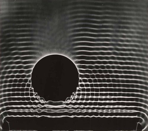 "the-rx:  ""Behavior of Waves"" by Berenice Abbott, circa 1960."